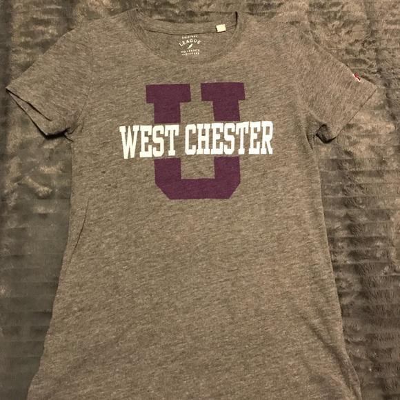 league Tops - West Chester University T Shirt